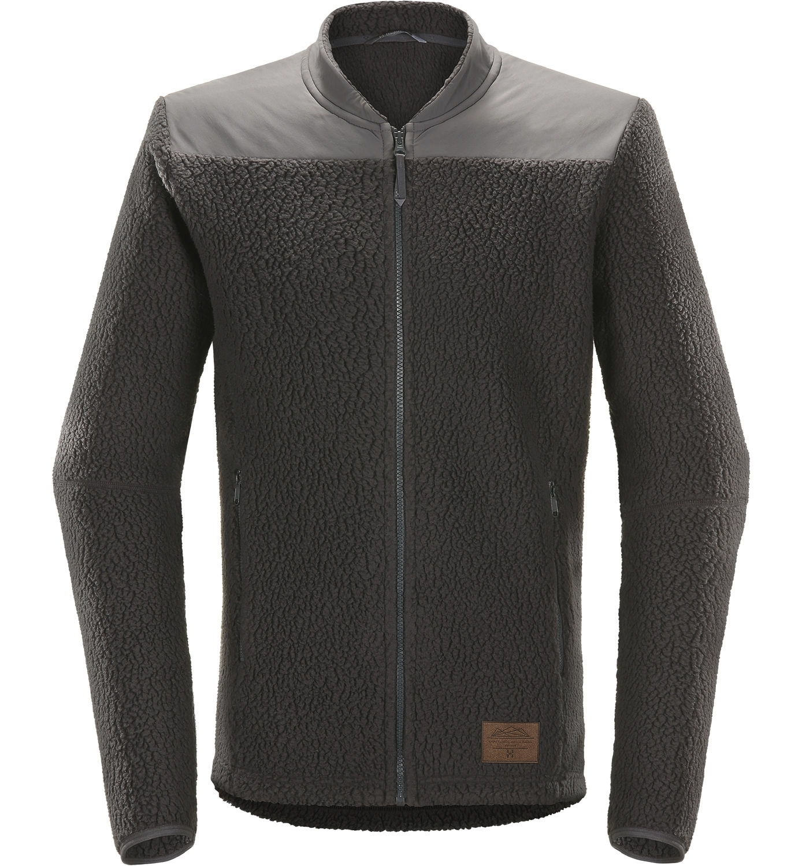 7f264d7a Haglöfs Pile Jacket Men Slate/Magnetite- Nava Sport - Vi selger klær ...