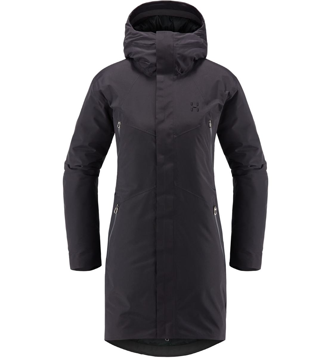 986d3414 Haglofs Furudal down Parka Woman Slate- Nava Sport - Vi selger klær ...