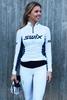 Bilde av Swix  RaceX bodyw halfzip Womens Bright White/Majolica