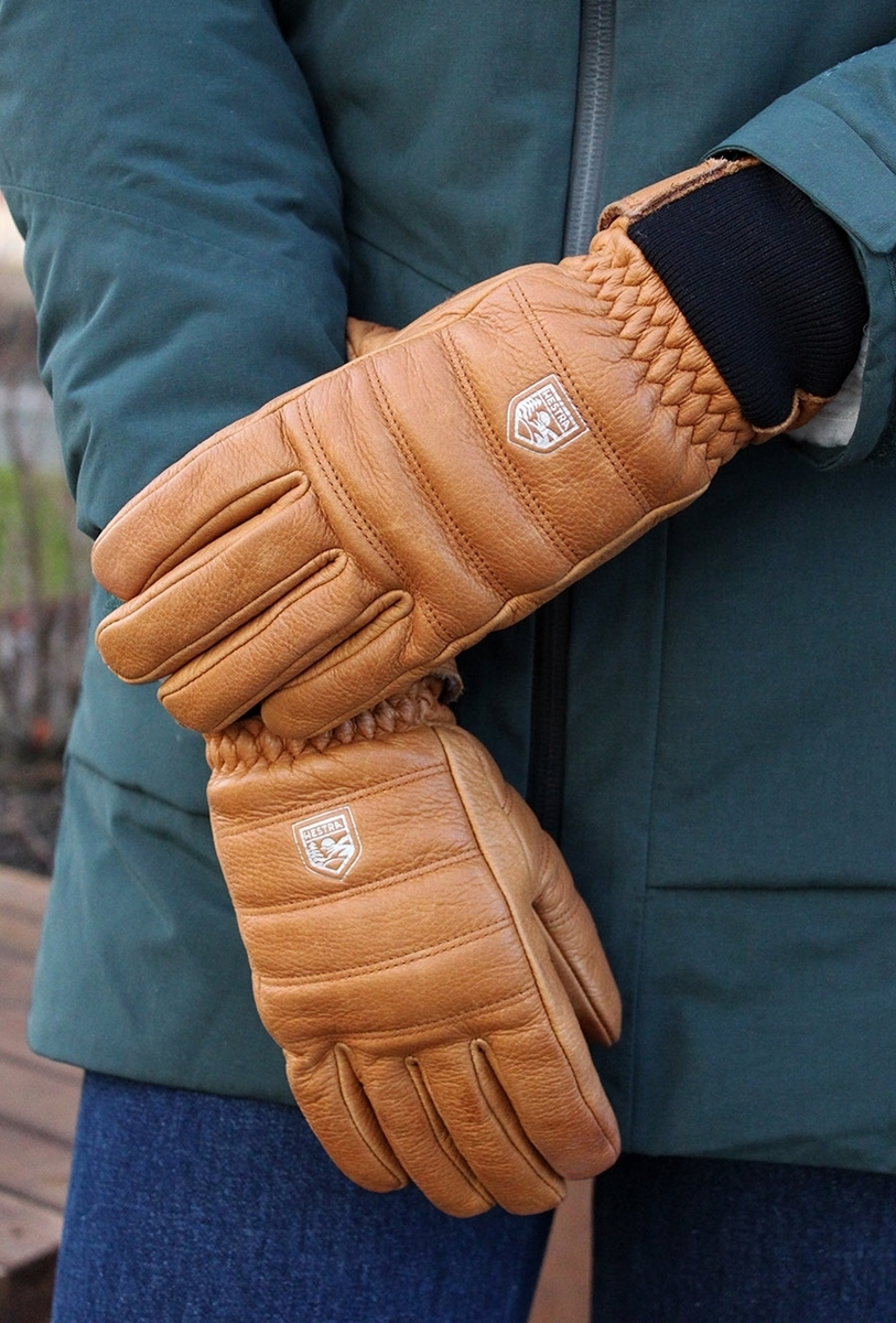 Bilde av Hestra  Alpine Leather Primaloft - 5 finger kork