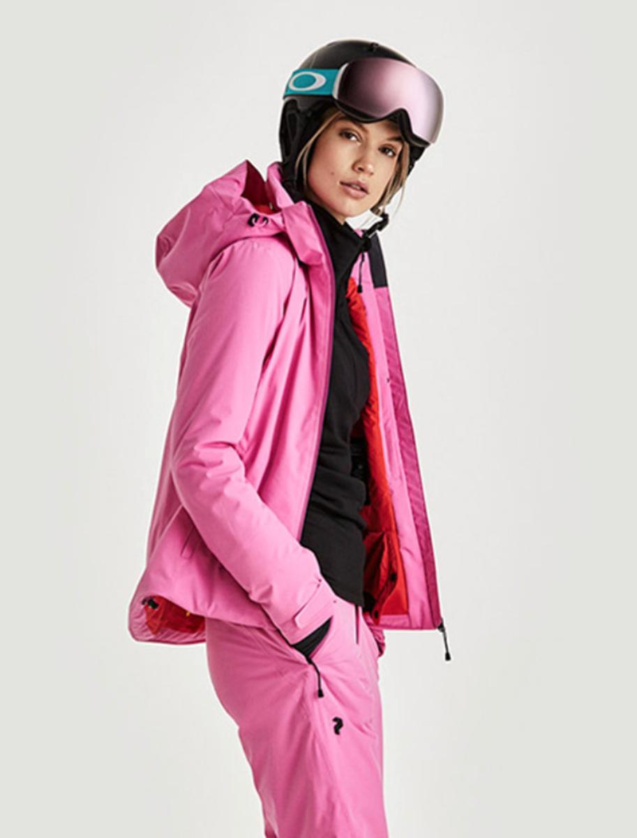 Kendte Peak Performance W ANIMA J vibrant pink- Nava Sport - Vi selger TD-48