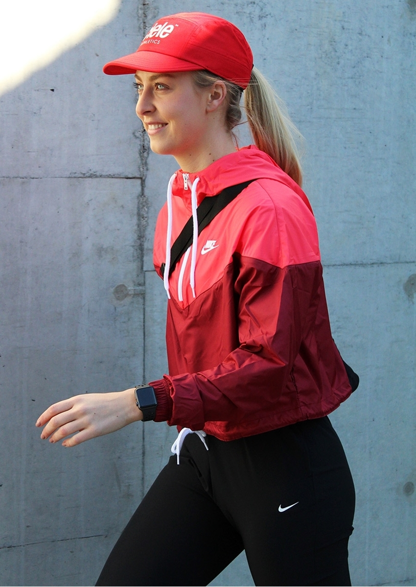 Bilde av Nike w nsw heritage jkt wndbrk AR2511-677