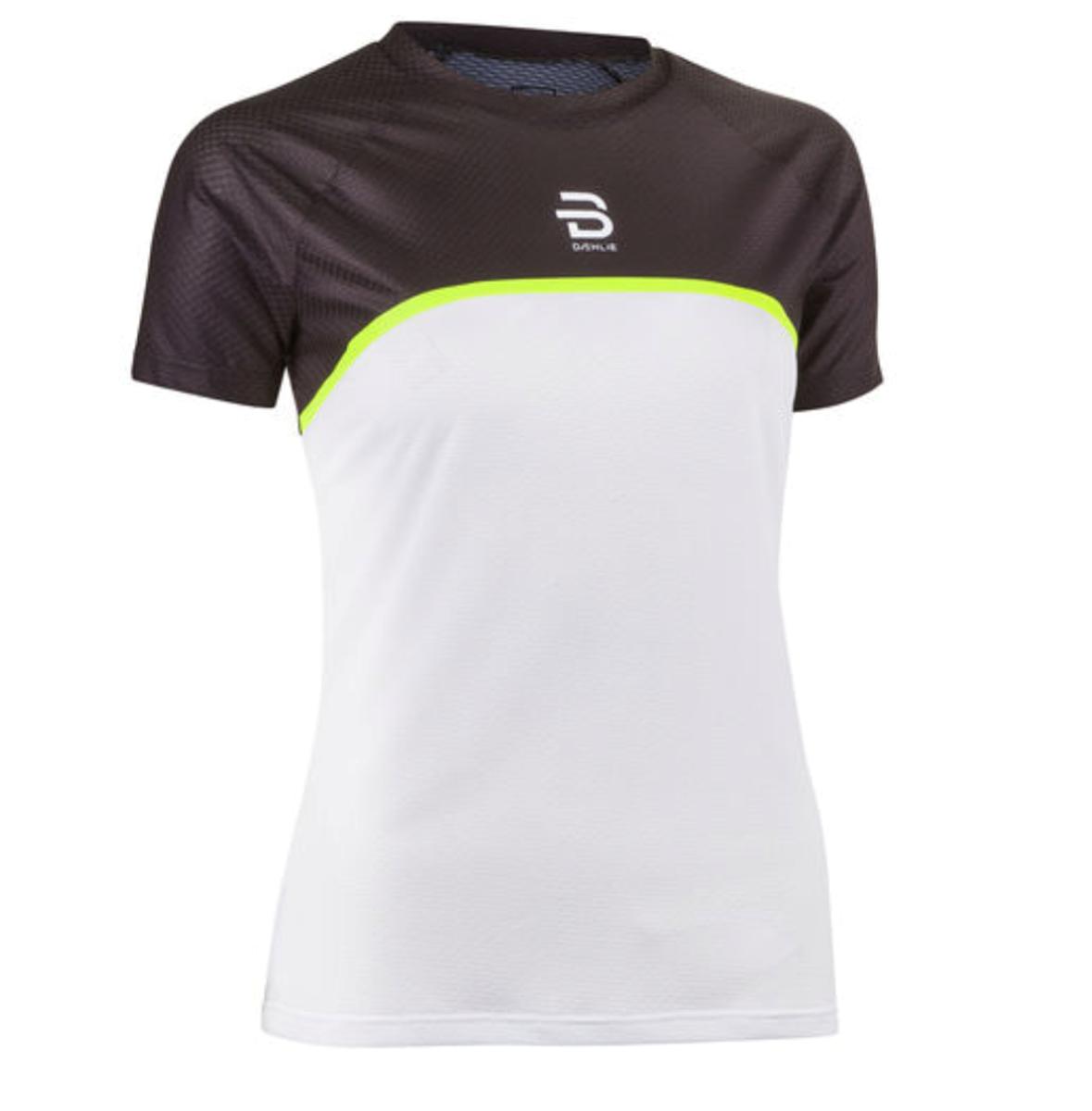 b4a386f5 Dæhlie T-Shirt Raw Athlete Wmn Brilliant White- Nava Sport - Vi ...