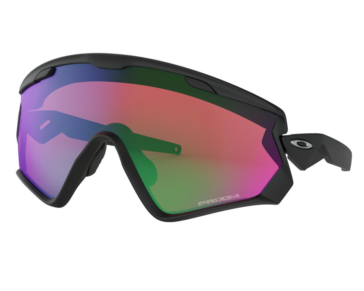 56ab7048574 Oakley Wind Jacket 2.0 Matte Black w  PRIZM Snow Jade- Nava Sport ...