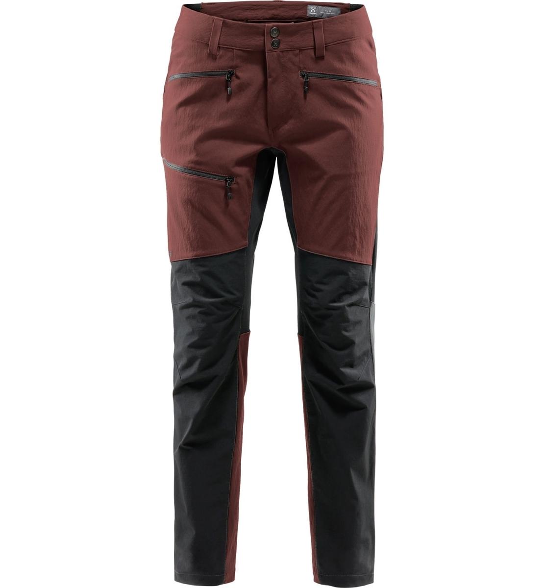 Bilde av Haglöfs  Rugged Flex Pant Men maroon red/true black