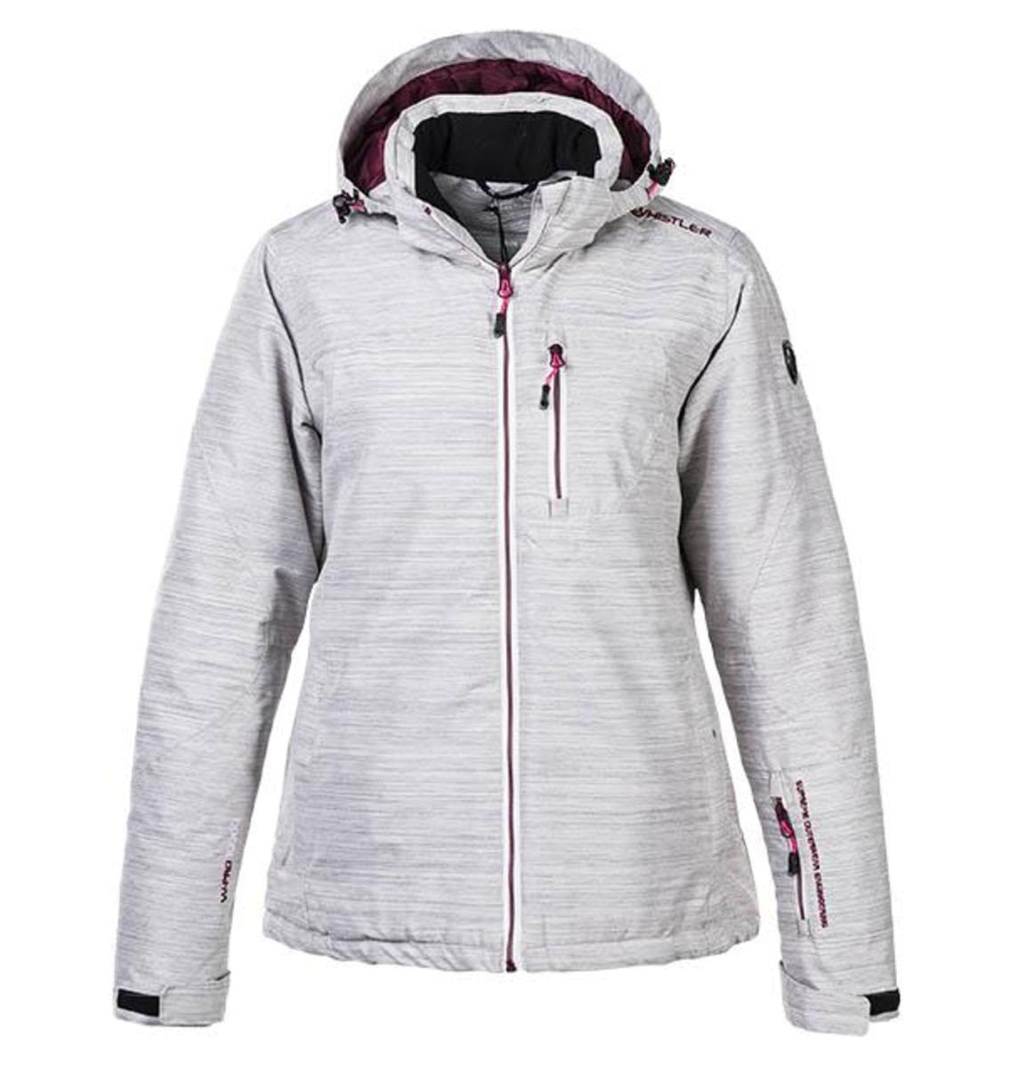 482de500 Whistler Kalgoorlie W ski jacket W-PRO 10000 Pearl Grey- Nava Sport ...