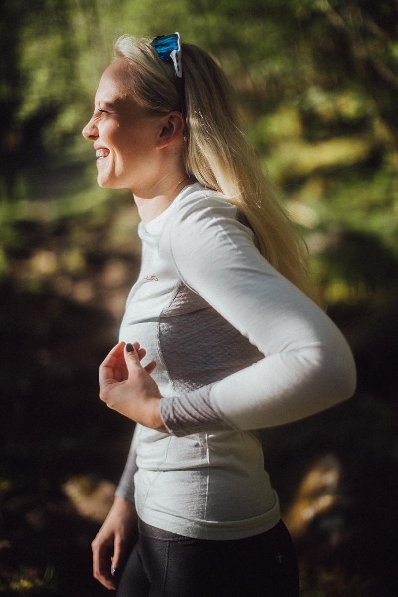 Bilde av Johaug  Lithe Tech-Wool Long Sleeve MIST