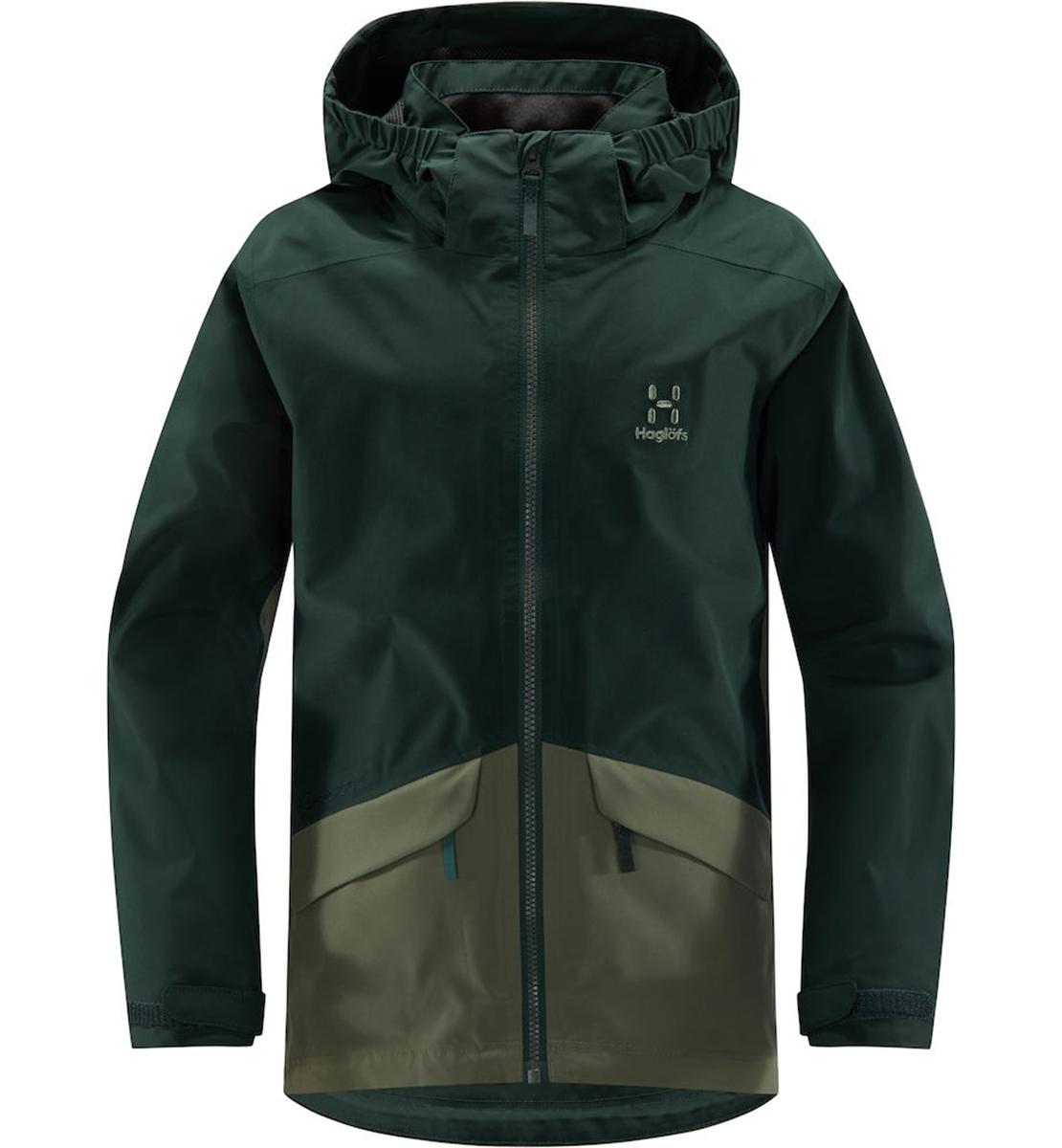25de71351 Haglöfs Mila Jacket Junior mineral/agave green
