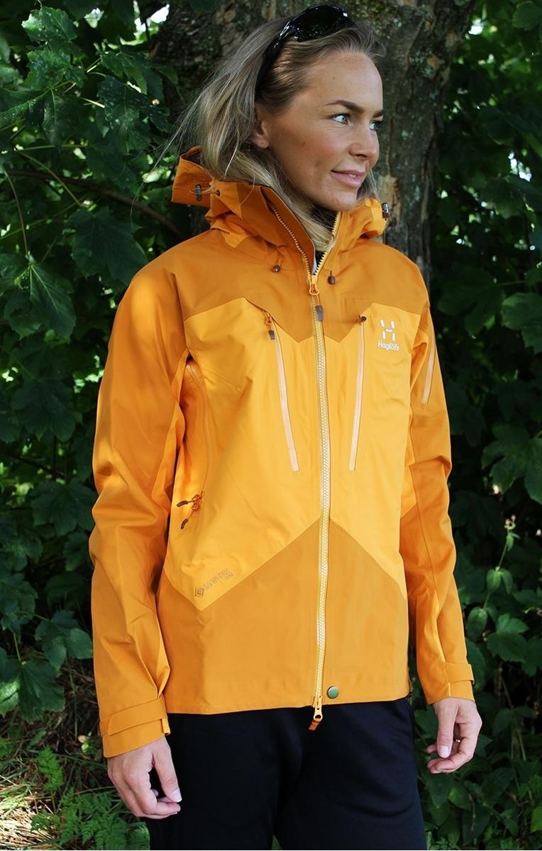 Bilde av Haglöfs  Spitz Jacket Women cloudberry/desert yellow