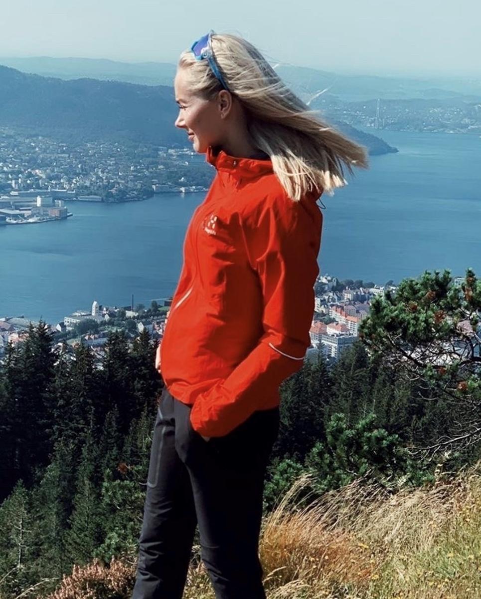 Bilde av Haglöfs  L.I.M Jacket Women Pope Red