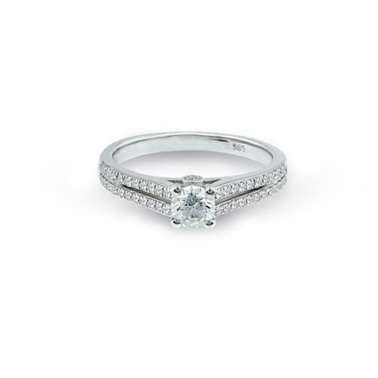 Diamantring i hvitt gull med 0,47 ct W-Si-15630024