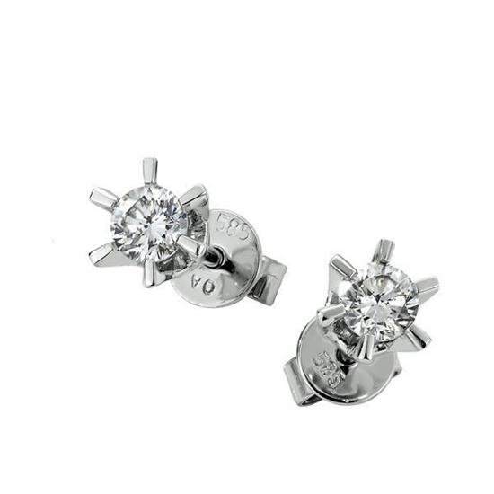Sofia diamant øredobber med  2/0,15 ct W-Si-2120715