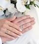illustrasjon med hånd av gifteringer- 11102500
