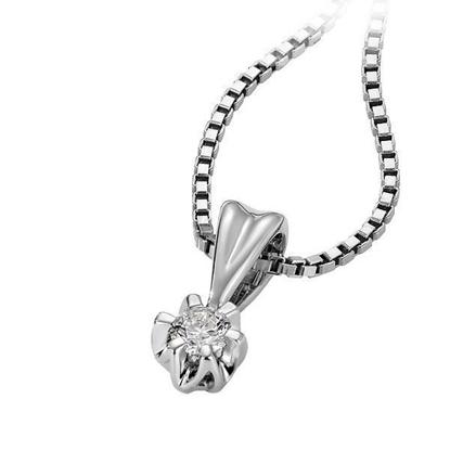 Diamantsmykke Sitara i gull med 0,20 ct W-Si-322120