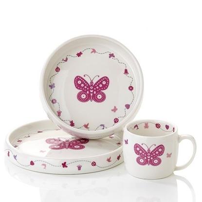 Servise i porselen Pia&Per. Sommerfugl - 8075