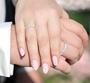 illustrasjon med hånd av gifteringer -1025