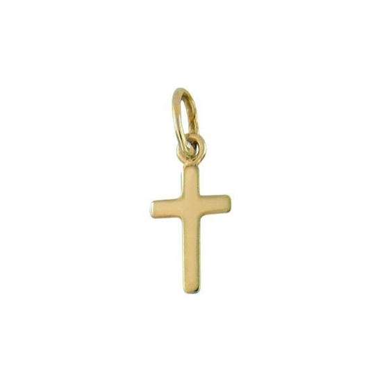 Bilde av Kors i gult gull 14kt/585 - 29014