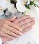 illustrasjon med hånd av gifteringer -7760306