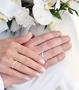 illustrasjon med hånd av gifteringer -1120