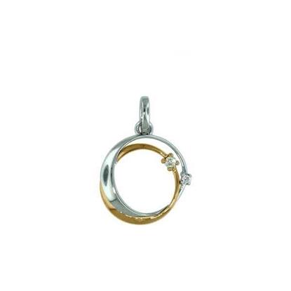 Diamantsmykke i gull med 0,03 ct W-Si - 232865