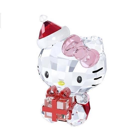 Swarovski figurer. Hello Kitty Christmas Gift - 5058065