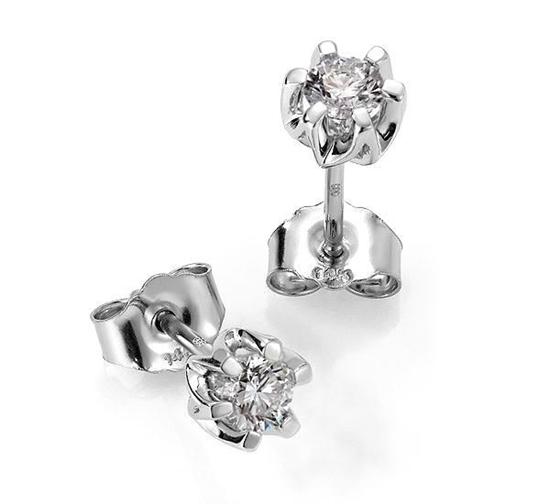 Sitara diamant øredobber med  2/0,11 ct W-Si-422111