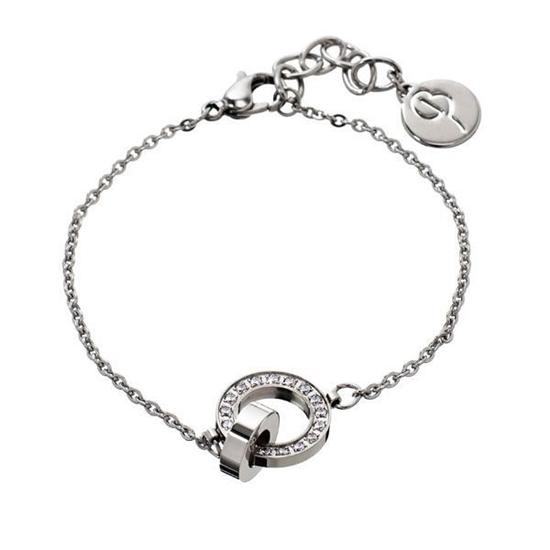 EDBLAD armbånd. Eternity orbit bracelet thin steel - 79111