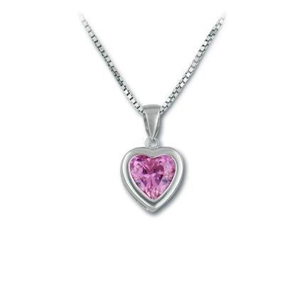 Smykke  i sølv med zirkonia - 902153