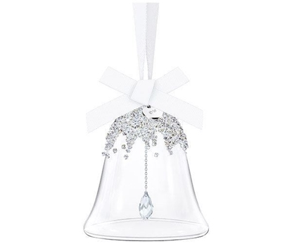 Swarovski figurer. Christmas Bell Ornament, small - 5223276