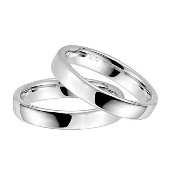 Forlovelsesringer i sølv rhodinert, 3.5 mm. RAUSCHMAYER -1029355
