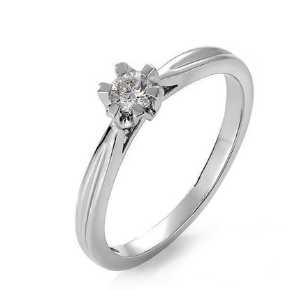Bilde av Diamantring Sitara med 0,16 ct W-Si-222116