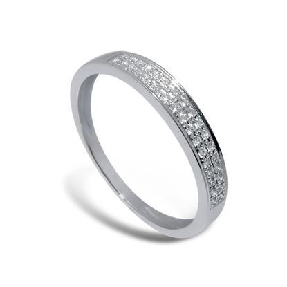 Diamantring i hvitt gull med 0,08 ct W-Si-3307008