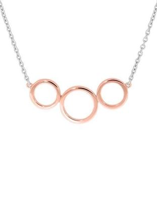 Smykke Oslo sølv, forgylt med rosé gull