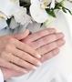 illustrasjon med hånd av gifteringer –12250