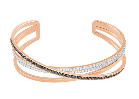 Swarovski armbånd Hero Cuff, Rose gold plating - 5299460