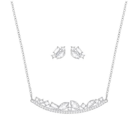 Swarovski smykkesett. Henrietta, Small, Rhodium plating - 5351314