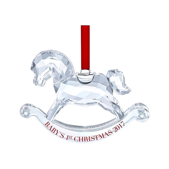Swarovski figurer. Baby's 1st Christmas Ornament - 5297124