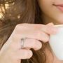Diamantring Cappuccino med 0,41 ct VS - COC00989