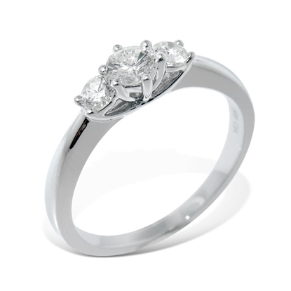 Diamantring Azur med 0,40 ct W-Si - ABR00750