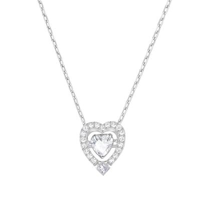 Swarovski smykke Sparkling Dance Heart - 5272365