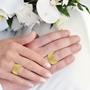illustrasjon med hånd av gifteringer -231010