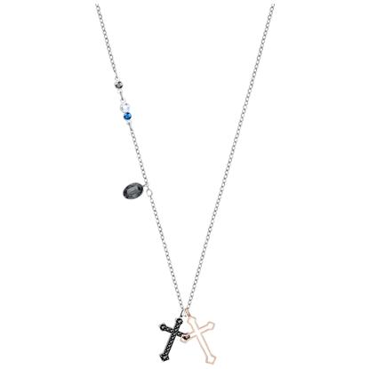Swarovski smykke Duo Mini Cross - 5396881