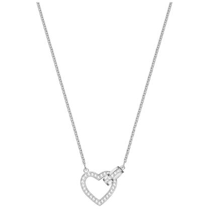 Swarovski smykke Lovely, Rhodium plating - 5380703