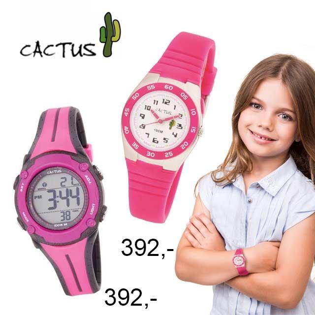 cactus klokker til barn