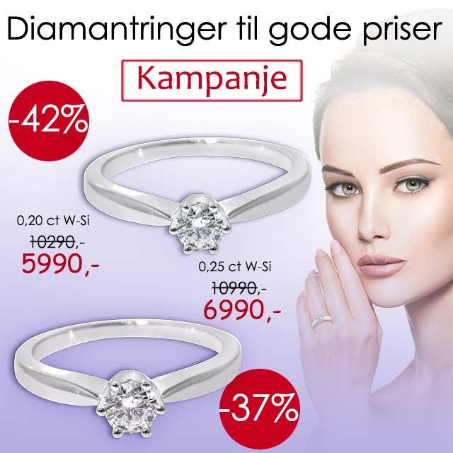 diamantringer knallkjøp