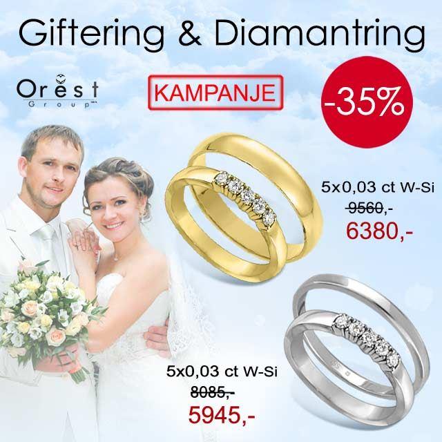 kampanje på gifteringer