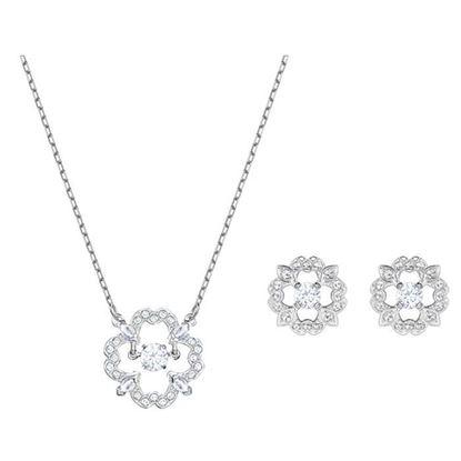 Swarovski smykkesett. Sparkling Dance Flower - 5397867