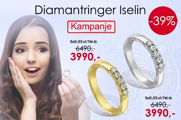 Diamantring Iselin