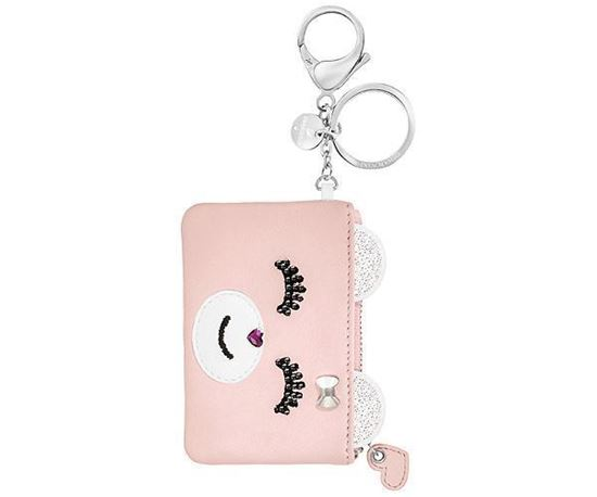 Swarovski nøkkelring Kris Card Bag Charm - 5373015