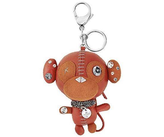Swarovski nøkkelring Ernest Orange Bag Charm - 5201632